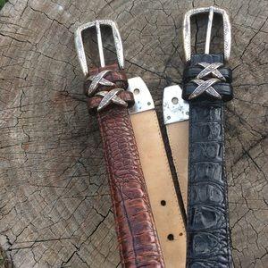Brighton Accessories - Brighton Belts Bundle Black Brown Sz 30